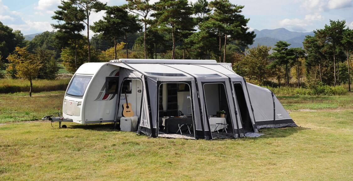 best caravan awning for windy conditions
