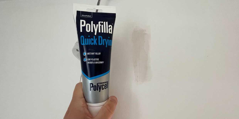 best filler for plaster walls