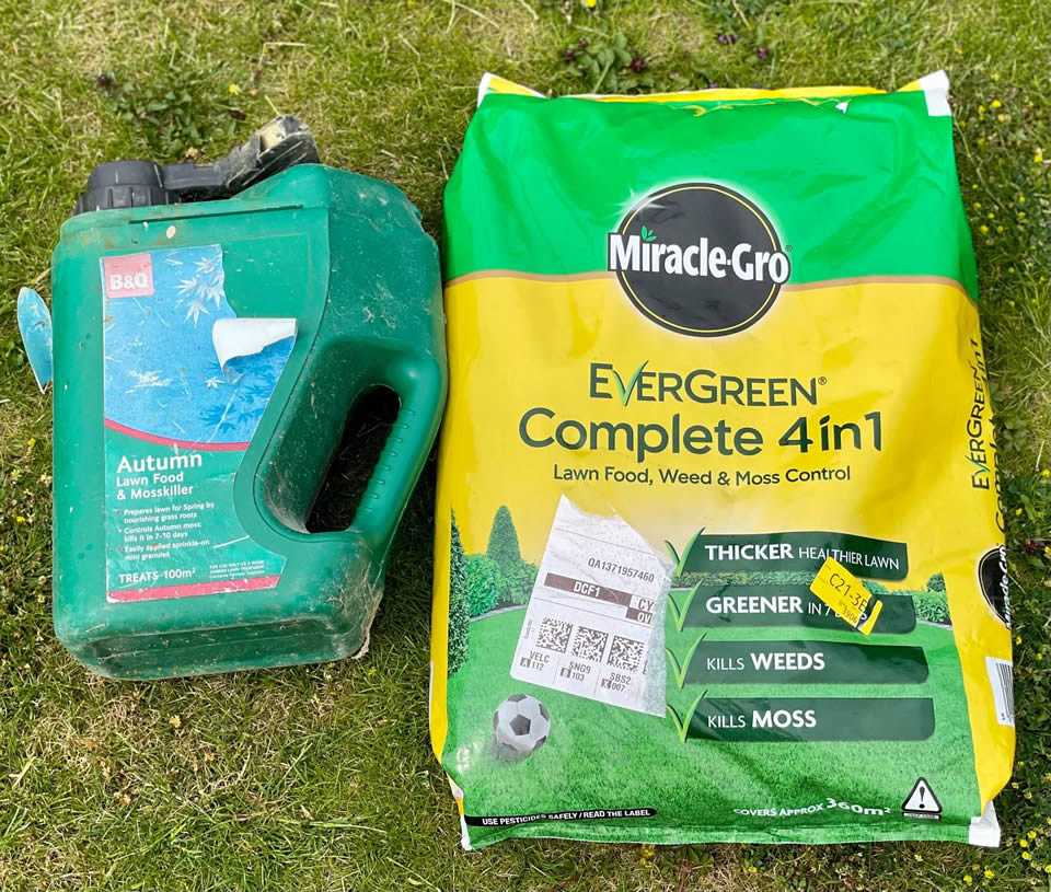 best lawn feed and moss killer
