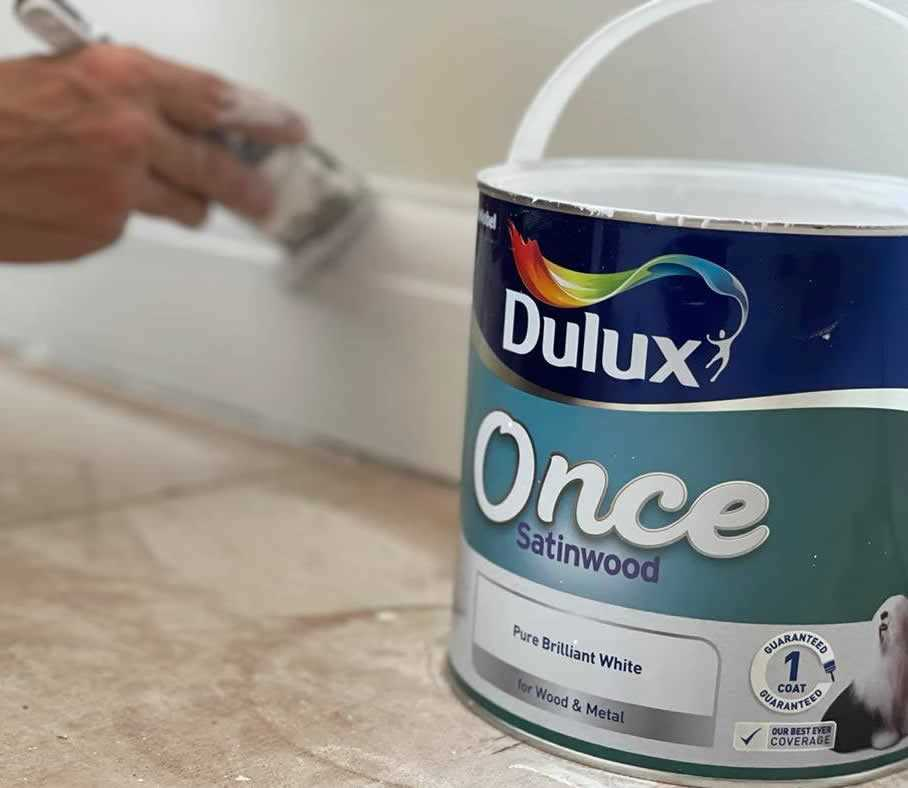 best paint for skirting boards and door frames