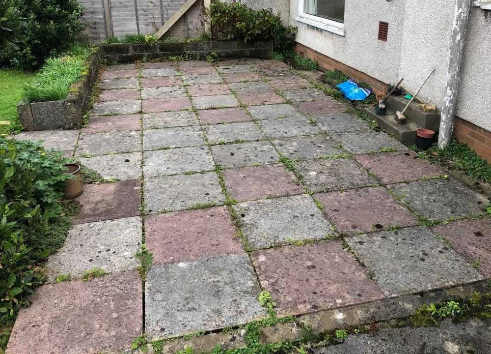 how to clean patio