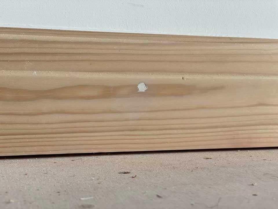 how to paint new skirting boards